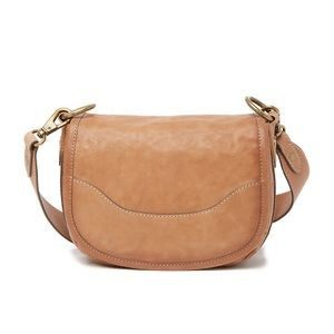 Frye | Lucy Leather Saddle Bag